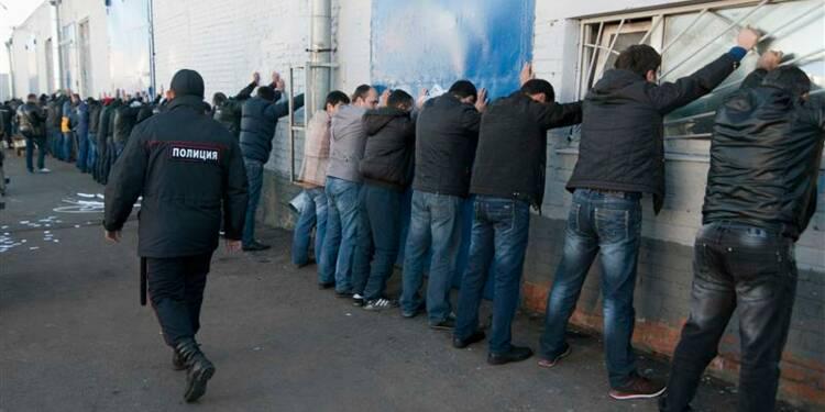 Un millier d'immigrés arrêtés à Moscou après une émeute