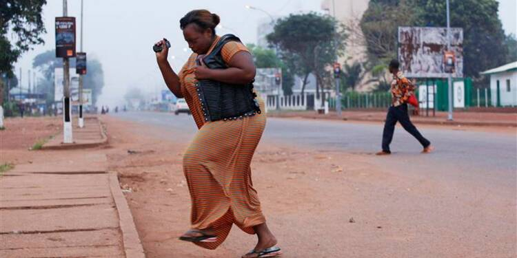 Au moins 105 morts dans des affrontements à Bangui