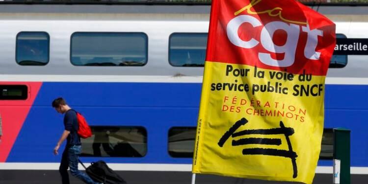 Net mouvement de reprise du travail à la SNCF