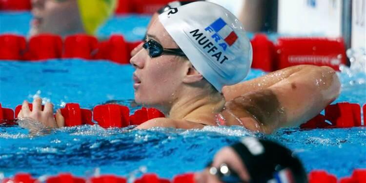 Natation: le relais français féminin 4x200m en finale