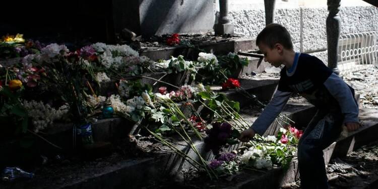 Une vingtaine de séparatistes tués à Marioupol, selon Kiev