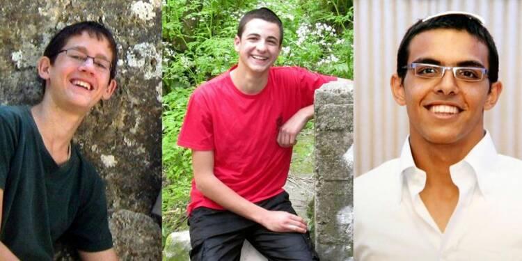 Les corps des trois jeunes Israéliens retrouvés près de Hébron