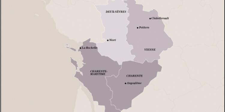 Poitou-Charentes (13ème) : merci  au cognac dont les Chinois raffolent !