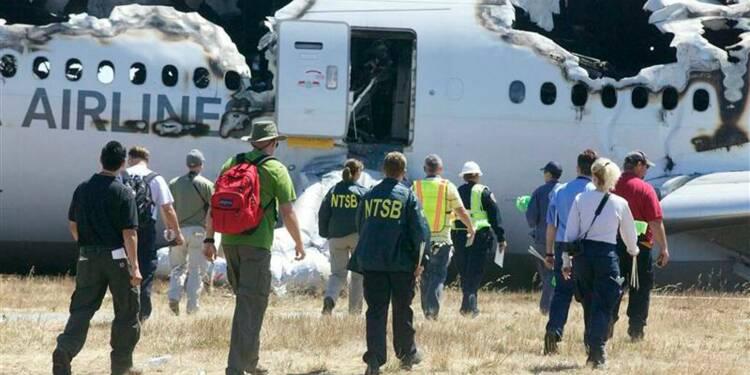 L'avion d'Asiana volait trop lentement, le pilote débutait sur 777