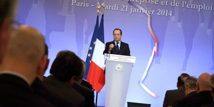 Hollande veut des engagements sur les créations d'emplois