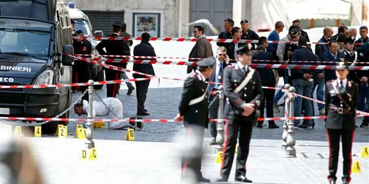 Coups de feu devant la présidence du Conseil à Rome, des blessés