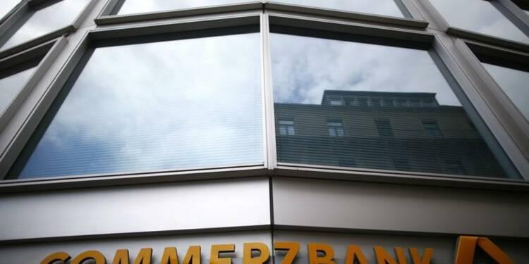 Commerzbank fait moins bien que prévu au 2e trimestre