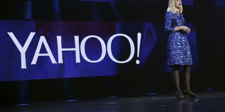 Chiffre d'affaires en baisse pour Yahoo au 4e trimestre