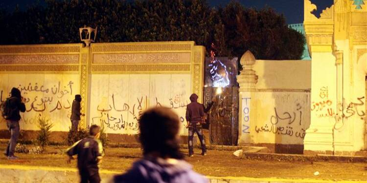 Affrontements au Caire deux ans après la chute de Moubarak
