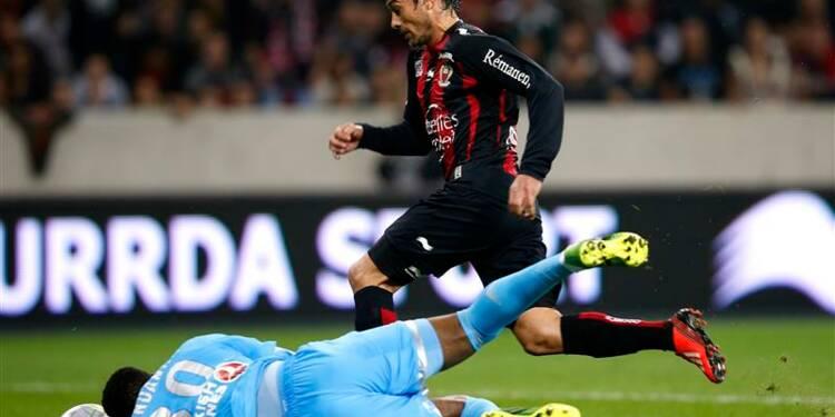 Ligue 1: Marseille sombre à Nice, Toulouse fait chuter Reims