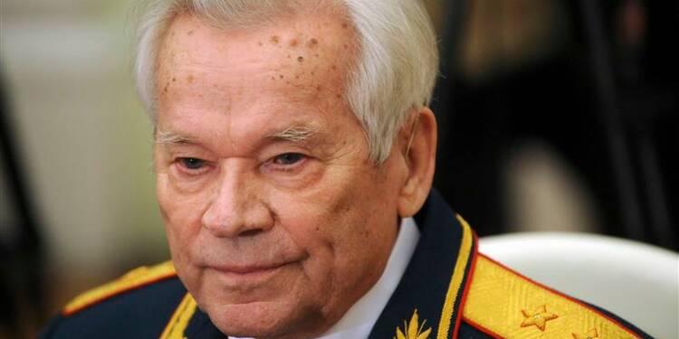 Mort de Mikhaïl Kalachnikov, inventeur du fusil portant son nom