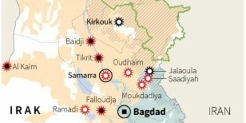 Les djihadistes contrôleraient un poste-frontière en Irak