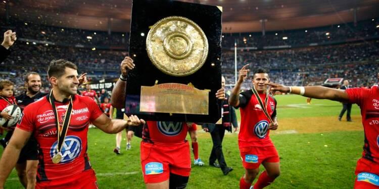 Top 14: le Bouclier pour Toulon, qui réalise un doublé historique