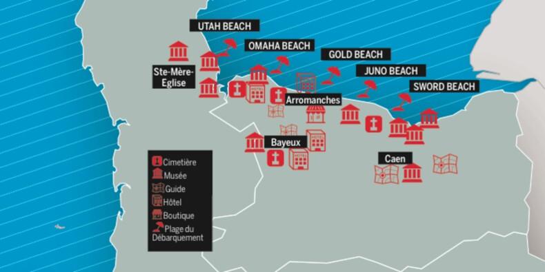 Commémorations du D-Day : ces sites du souvenir qui font le plein de touristes