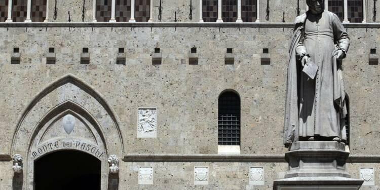 Monte dei Paschi baisse en Bourse, crainte de nationalisation