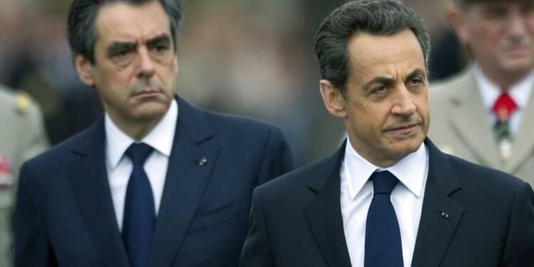 """Fillon prêt à la """"confrontation ouverte"""" avec Sarkozy"""