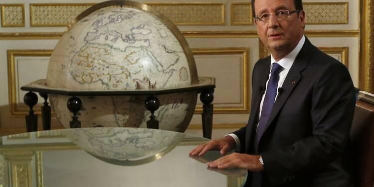 Hollande veut renforcer la voix française sur la Syrie à l'Onu