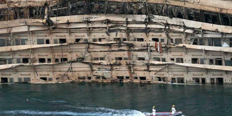 L'opération de redressement du Costa Concordia achevée