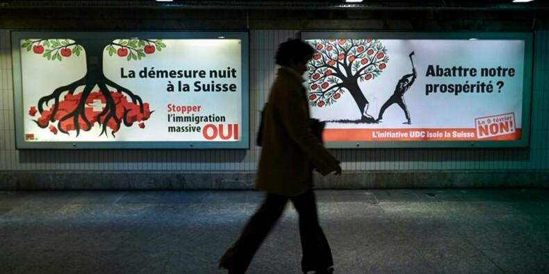 Les Suisses votent de justesse pour des quotas d'immigration