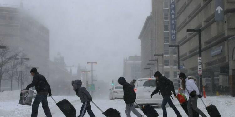 Le froid polaire sévit toujours sur le nord-est des Etats-Unis