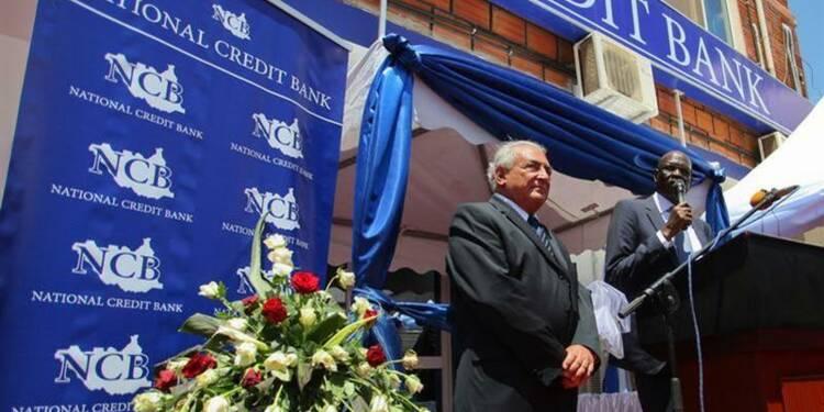 Strauss-Kahn à l'inauguration d'une banque du Soudan du Sud