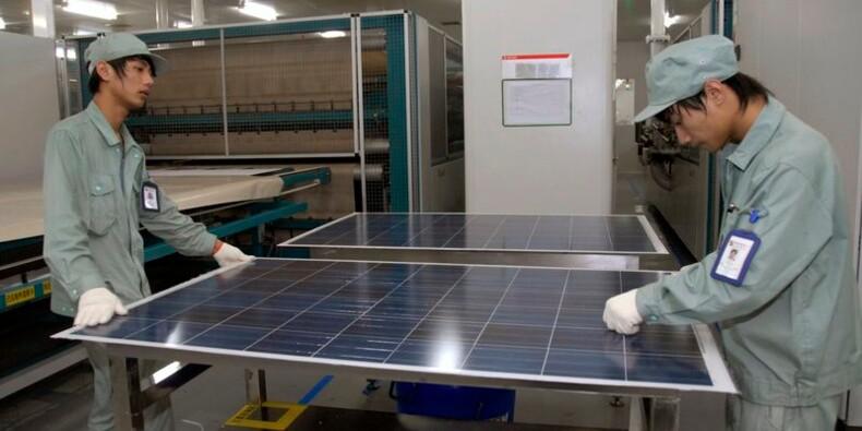 Washington taxe les importations chinoises de panneaux solaires