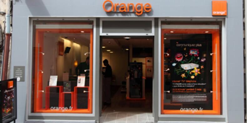 Orange met des flashcodes partout