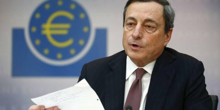 Mario Draghi fait la leçon aux dirigeants européens