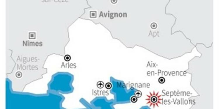 Le corps calciné d'un homme découvert près de Marseille
