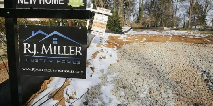Rebond des ventes de logements neufs en avril aux Etats-Unis