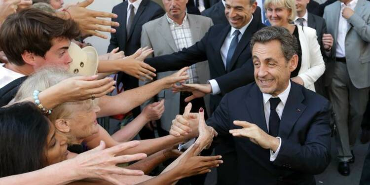 Sarkozy plébiscité par les sympathisants UMP pour 2017