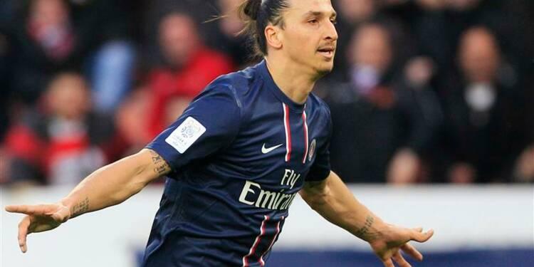 Ligue 1: Ibrahimovic sort le PSG d'un mauvais pas contre Nancy