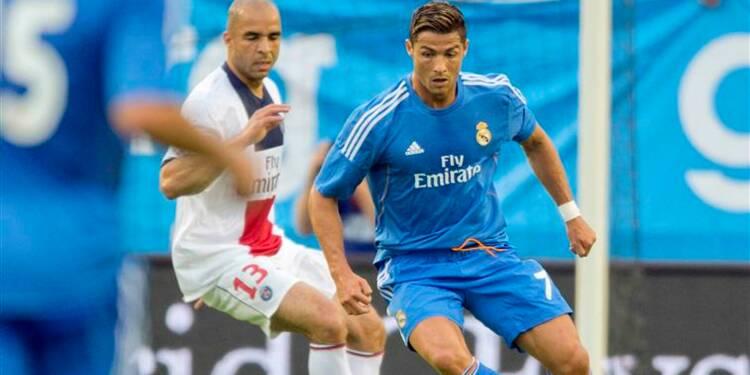 Football: le PSG s'incline 1-0 contre le Real d'Ancelotti