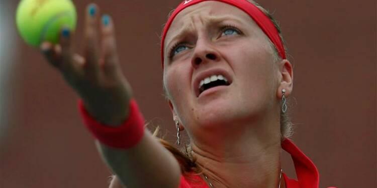 US Open: Petra Kvitova encore sortie prématurément à New York