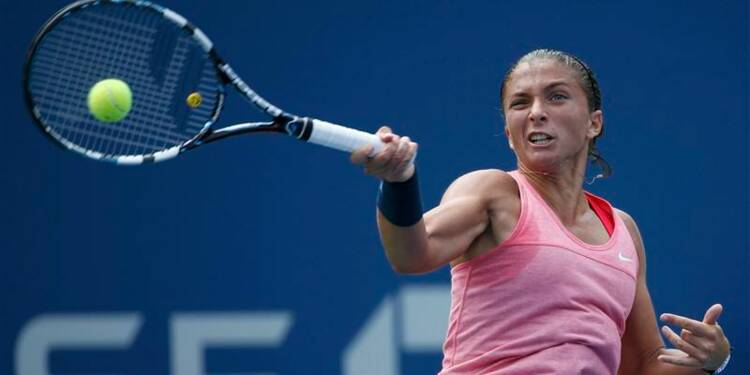 US Open: Sara Errani chute au deuxième tour