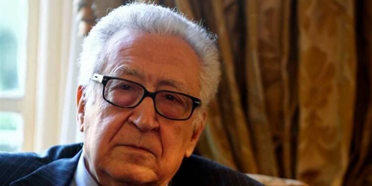 Brahimi prône un dialogue inter-syrien dans des locaux de l'Onu