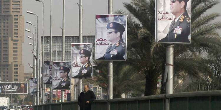 Le maréchal Sissi candidat à la présidence en Egypte