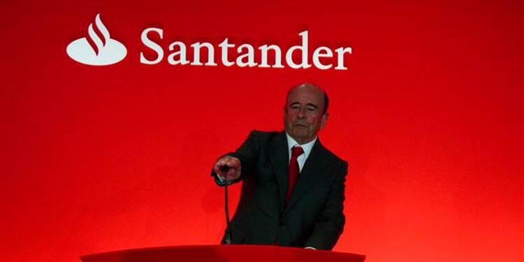 Santander affiche un bénéfice légèrement inférieur aux attentes
