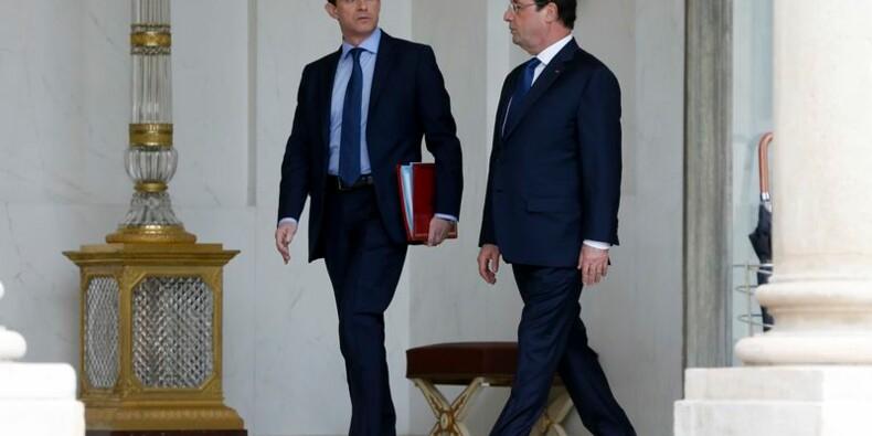 Le couple Hollande-Valls menacé de cohabitation