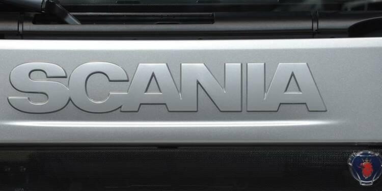 Les commandes de Scania en hausse de 29% au 3e trimestre