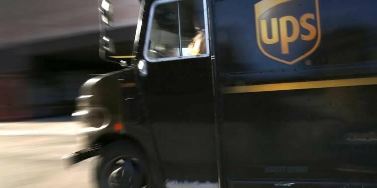 L'hiver rigoureux a pesé sur les résultats trimestriels d'UPS