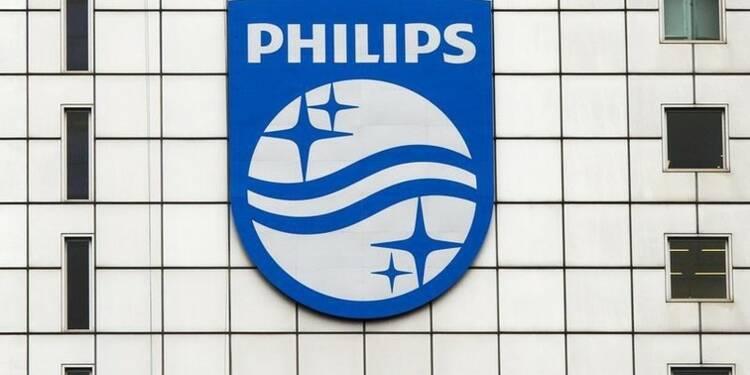 Philips annonce une baisse plus forte qu'attendu des bénéfices