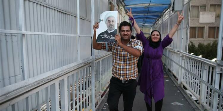 Le religieux modéré Hassan Rohani élu à la présidence de l'Iran