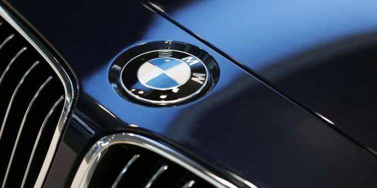BMW affiche un solide 1er trimestre