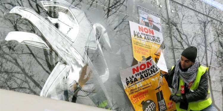 Quatre syndicats de PSA favorables au projet d'accord