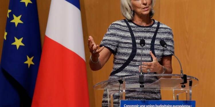 Lagarde plaide pour une union bancaire rapide de la zone euro