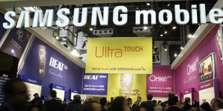 Samsung devient le numéro 1 mondial des téléphones mobiles, devant Nokia