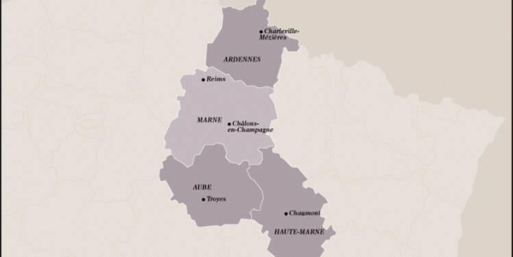 Champagne-Ardenne (19ème) : crise au  nord, l'agro-industrie décolle au sud