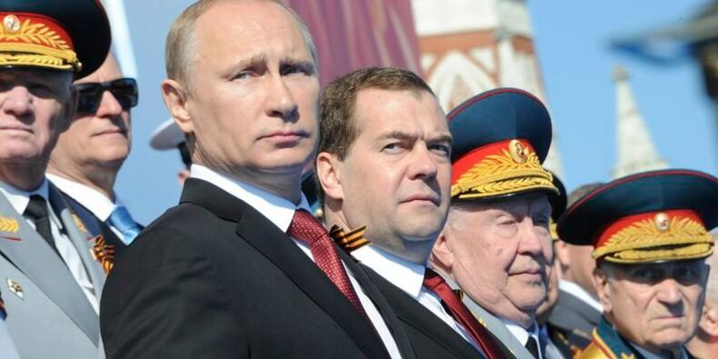 Vladimir Poutine est en Crimée