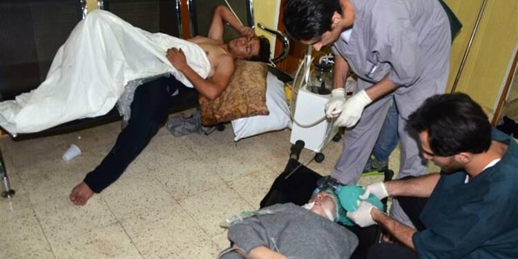 L'armée syrienne accusée d'une attaque chimique près de Damas